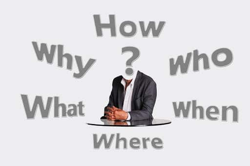 Who, what, when, where, why, and how?